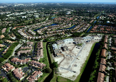 Townhomes in Boca Aerial Construction Image 2