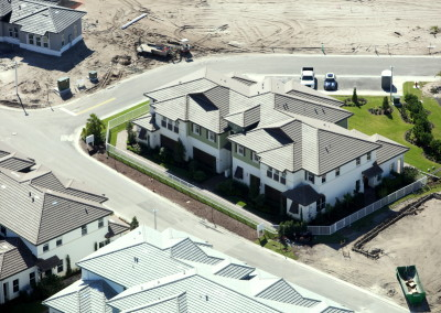 Townhomes in Boca Aerial Construction Image 7