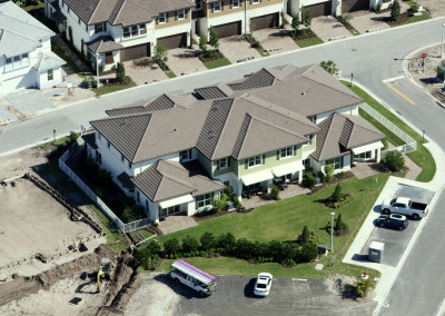 Townhomes in Boca Aerial Construction Image 8